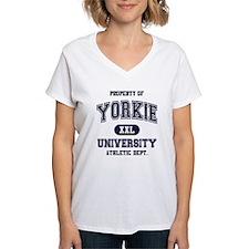 Yorkie University Shirt