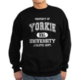 Yorkie University Sweatshirt