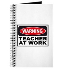 Warning Teacher at Work Journal