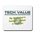 By Grabthar's hammer Mousepad