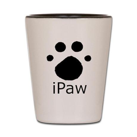 iPaw Shot Glass