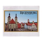 Regensburg Neupfarrkirch Throw Blanket