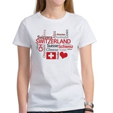 Switzerland - Favorite Swiss Things Tee