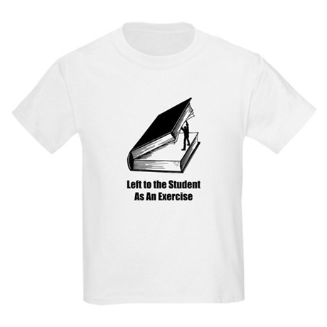 Student Exercise Kids T-Shirt