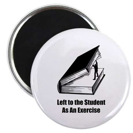"Student Exercise 2.25"" Magnet (10 pack)"