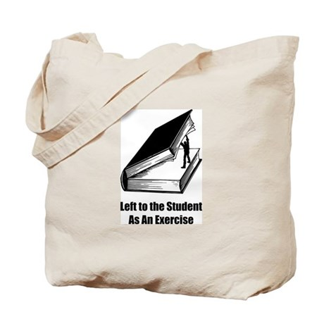 Student Exercise Tote Bag