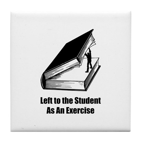 Student Exercise Tile Coaster