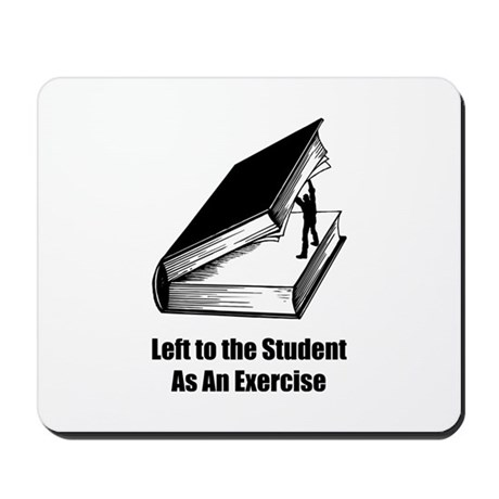 Student Exercise Mousepad