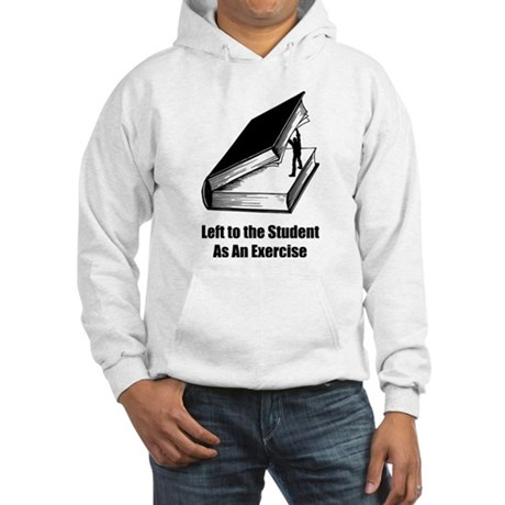 Student Exercise Hooded Sweatshirt