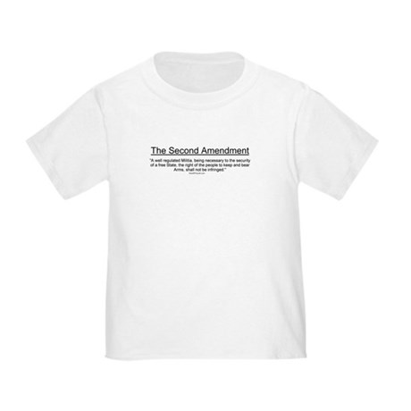 Second Amendment Toddler T-Shirt