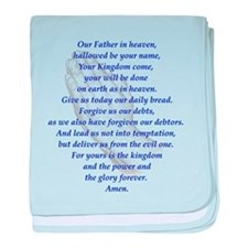 The LORD's Prayer baby blanket