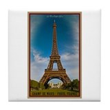 Paris - The Eiffel Tower Tile Coaster