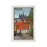Prague Castle Rectangle Magnet
