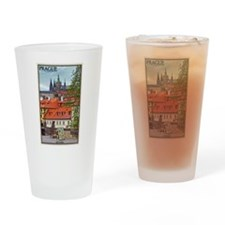 Prague Castle Drinking Glass