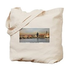 Charles Bridge Panorama Tote Bag