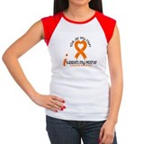 With All My Heart Leukemia Tee