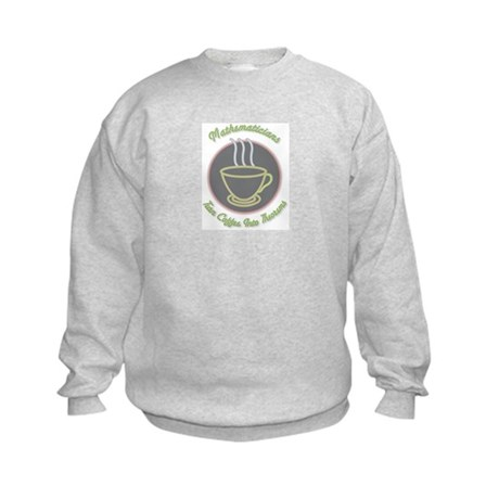 Mathematicians Kids Sweatshirt