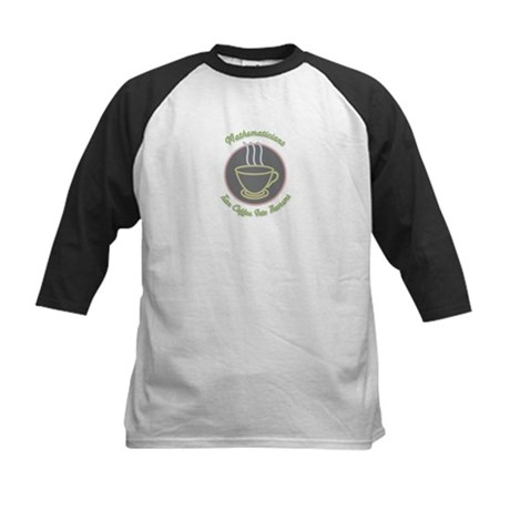 Mathematicians Kids Baseball Jersey