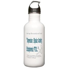Quotes Sports Water Bottle