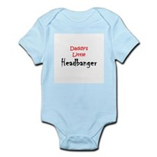 Daddy's Little Headbanger Infant Bodysuit