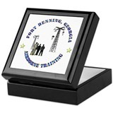 Airborne Training - Ft Benning Keepsake Box