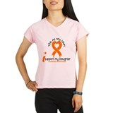With All My Heart Leukemia Performance Dry T-Shirt