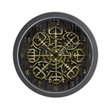 Nordic Guidance - Viking Comp Wall Clock
