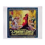 Original Phantom Throw Blanket