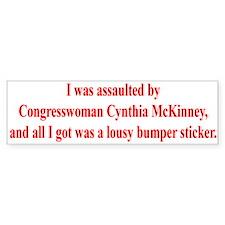 McKinney Assault Bumper Bumper Sticker