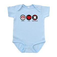 Peace Love Amsterdam Infant Bodysuit