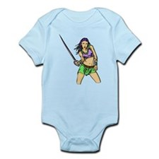 Fighting Amazon Women Infant Bodysuit