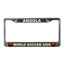 Angola World Cup 2006 Soccer License Plate Frame