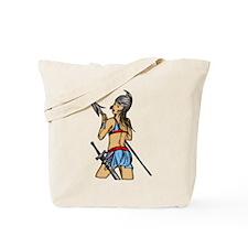Strong Amazon Women Tote Bag
