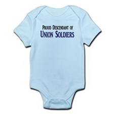 Proud Descendant Of Union Soldiers Infant Bodysuit