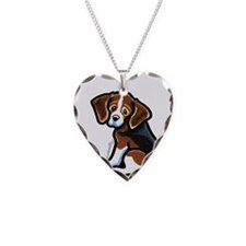 Cute Tri-color Beagle Necklace