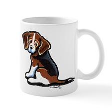 Cute Tri-color Beagle Mug