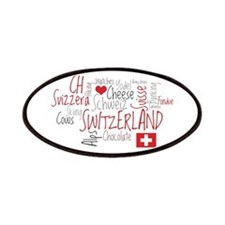 You Have to Love Switzerland Patches