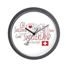 You Have to Love Switzerland Wall Clock