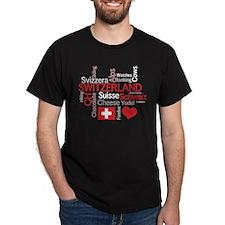 Switzerland - Favorite Swiss T-Shirt