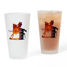 Turn 'n Burn Drinking Glass