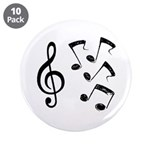 G-clef with Musical NOTES IV 3.5