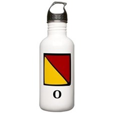 Nautical Letter O Water Bottle