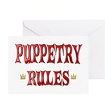 Puppetry Rules Greeting Card