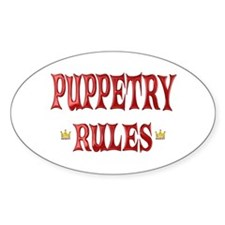 Puppetry Rules Decal