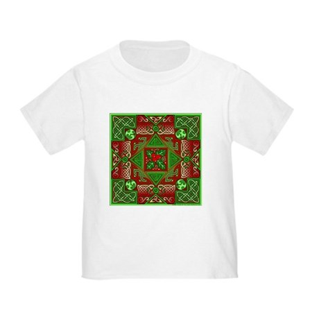 Celtic Labyrinth Holly Toddler T-Shirt