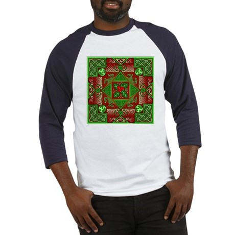 Celtic Labyrinth Holly Baseball Jersey