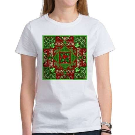Celtic Labyrinth Holly Women's T-Shirt