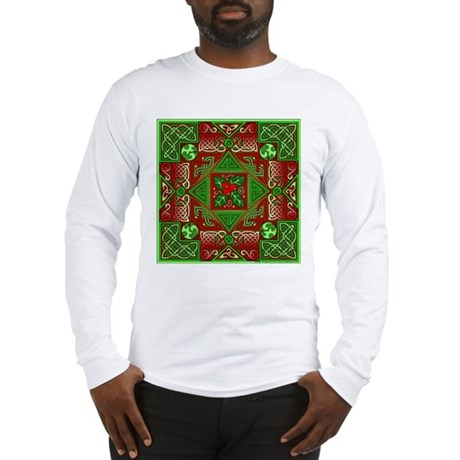Celtic Labyrinth Holly Long Sleeve T-Shirt