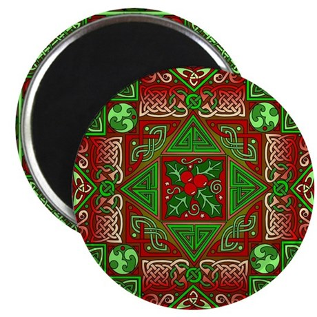 Celtic Labyrinth Holly Magnet