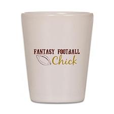 Fantasy Football Chick Shot Glass